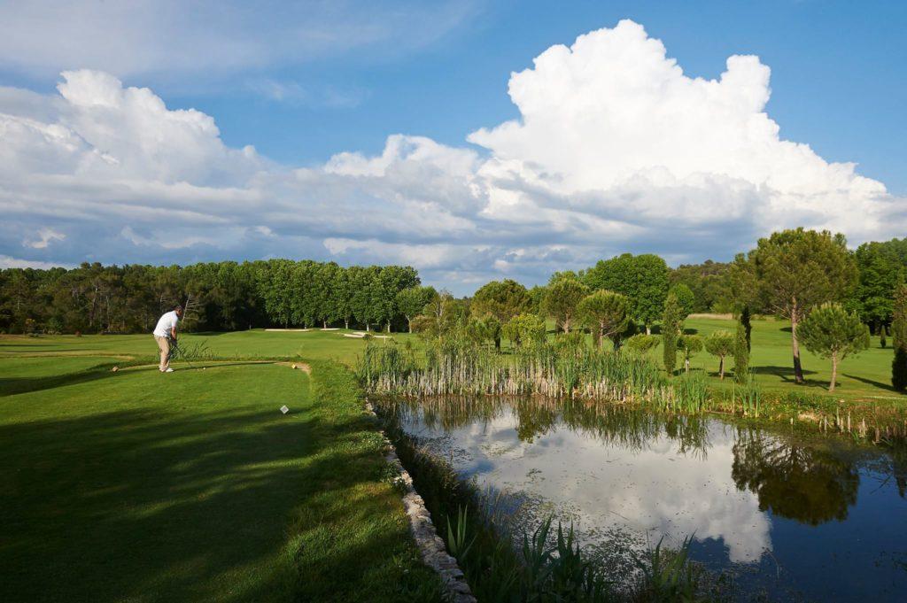 Parcours de golf Provence Sainte Baume