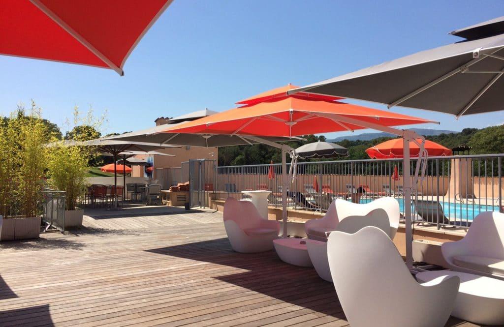 Golf opio Valbonne Terrasse Lounge Bar