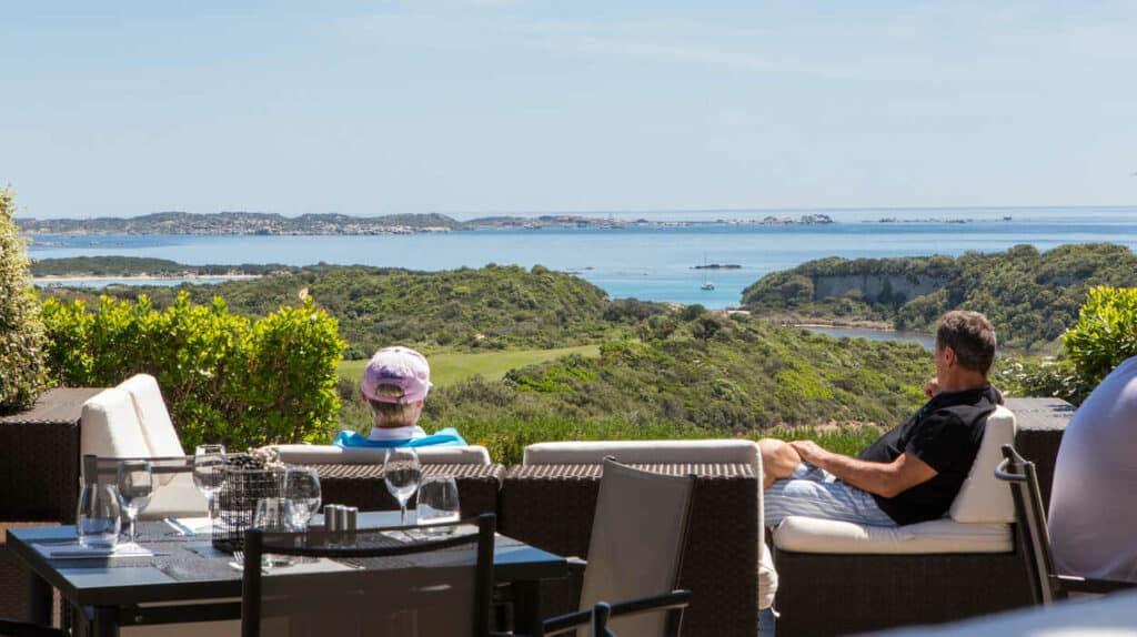 Restaurant golf Sperone Corse du Sud