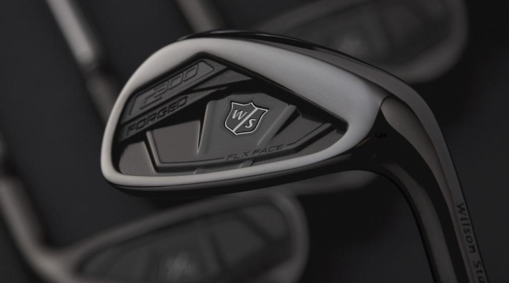 Nouvelle série en fer forgé Gunmetal C300 de chez Wilson Golf