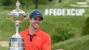 Rory Golf Victory for Rory McIlroy at the Canadian Open at #039;the Canadian Open which s'takes off with a card of 61 , our tricolor Paul Barjon finishes 20th