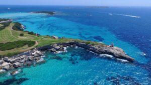 Le golf de Spérone Corse