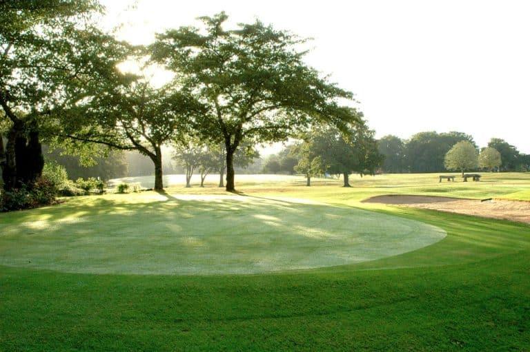 GOLF D'ANGERS parcours de golf Green