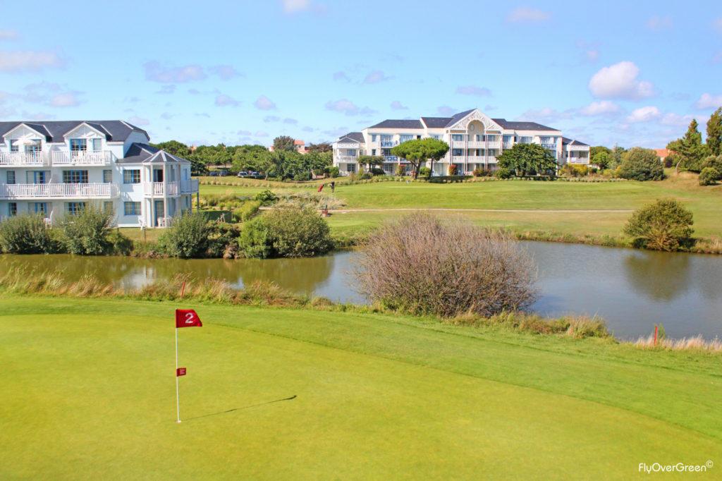 Golf De Port Bourgenay trou numero 2