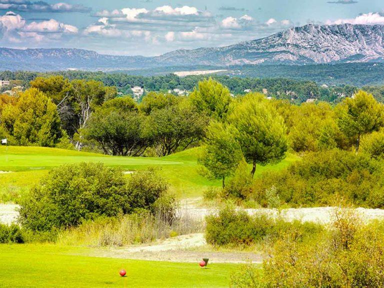 Golf La Cabre d'Or Parcours de golf Provence