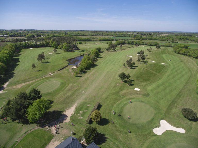 Golf-de-Guérande-vue aerienne Pays de la Loire parcours de golf