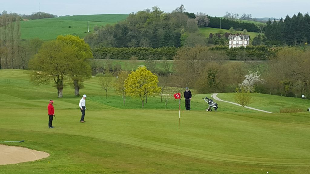 Golf de Laval La Mayenne Golfeurs