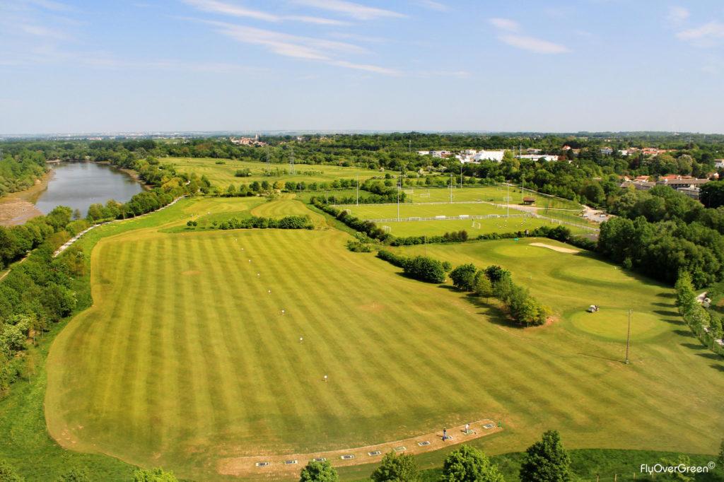 Golf de Saint-Sébastien-sur-Loire Practice driving range aire d'entrainement