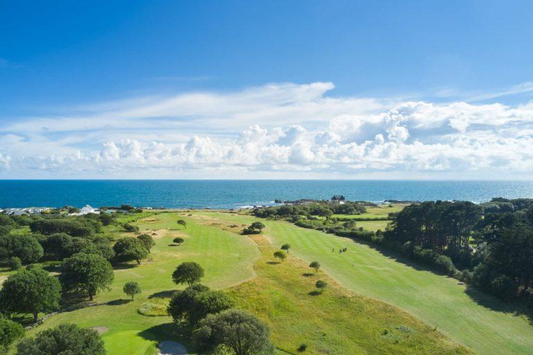Golf du Croisic vue aerienne vacances sejour golf Pays de la loire