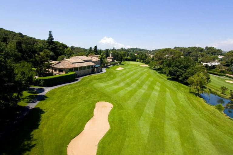 Golf mougins 18