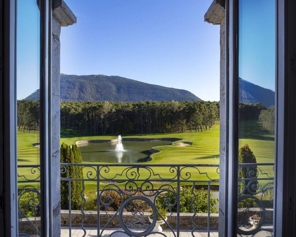 Le golf du chateau de Taulane