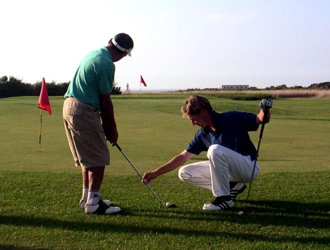 MARK NICOLAS, cours et stages de golf au Golf des Sables d'Olonne