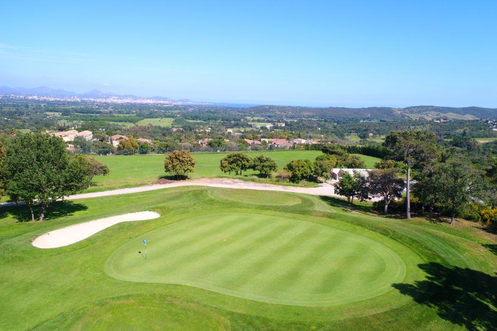 Parcours de golf Roquebrune