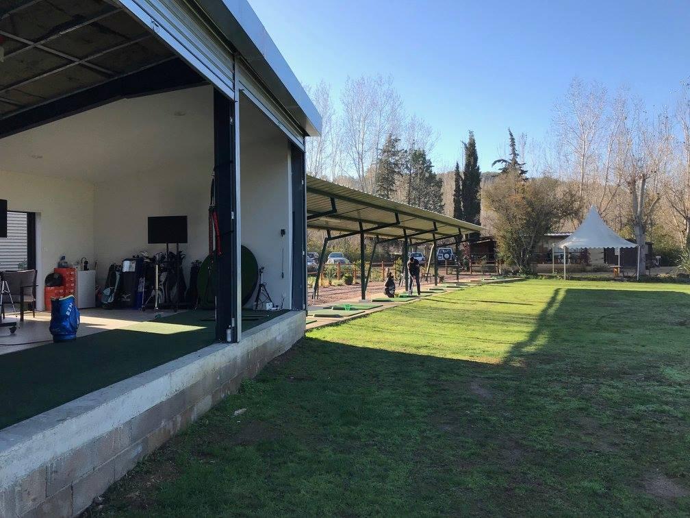 Practice du giga golf club Entrainement