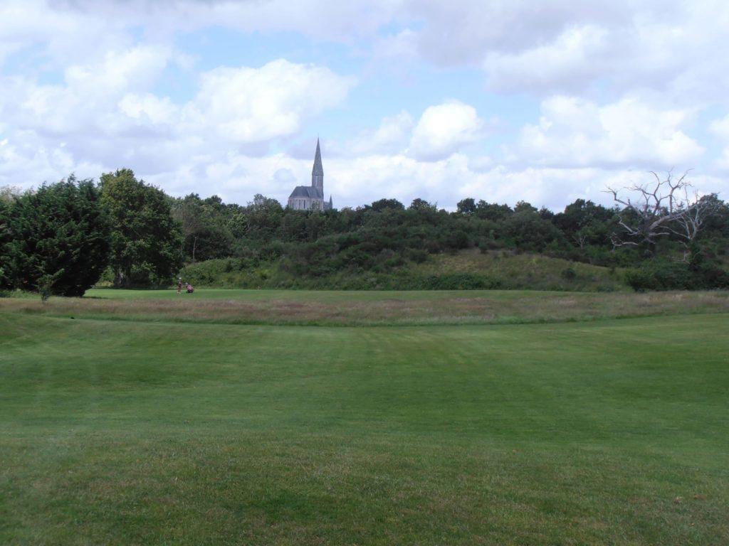 fairway green bunker Carquefou golf 18 trous