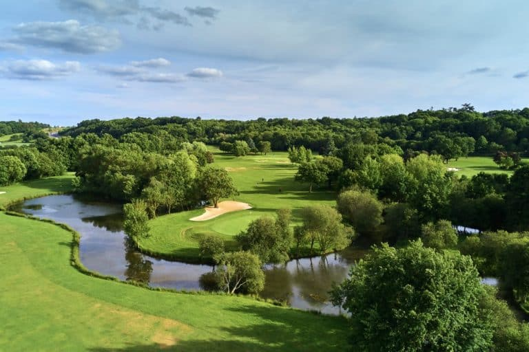 Avrillé golf course Château de La Perrière