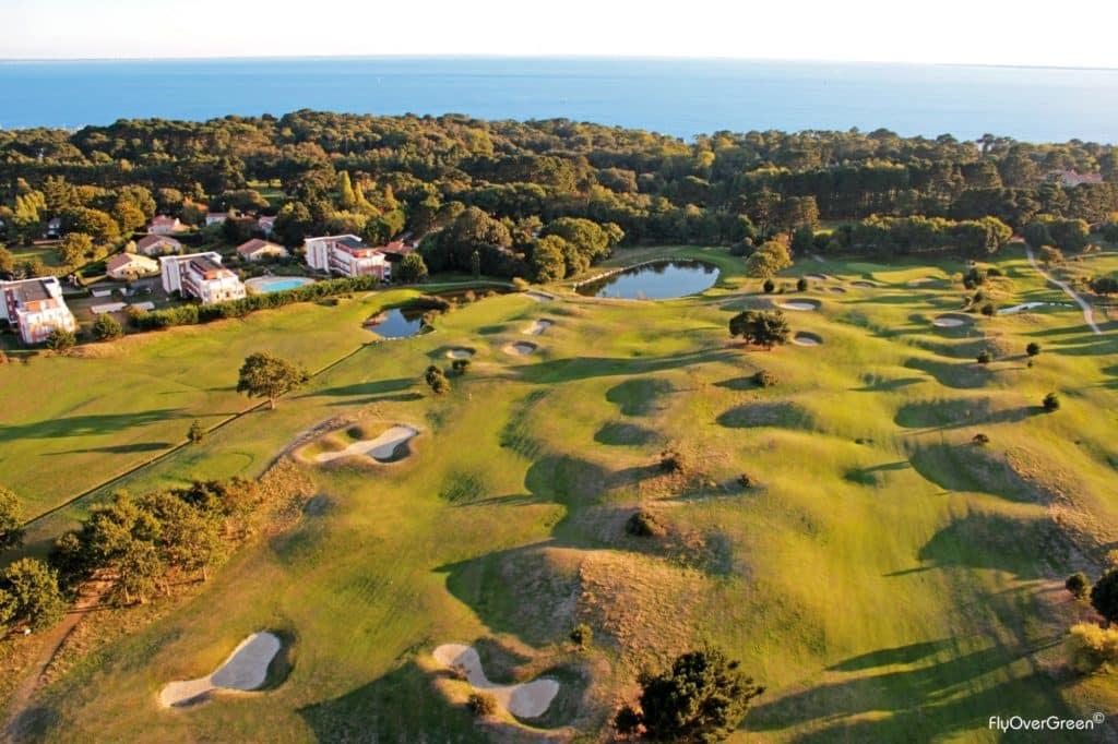 golf de Pornic golf proche océan Atlantique Pays de la loire