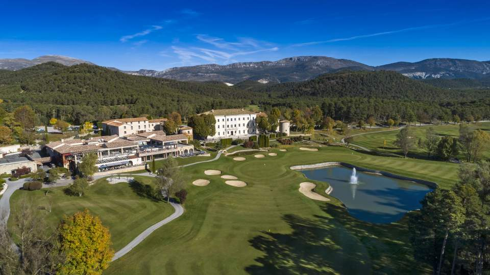 parcours de golf Taulane