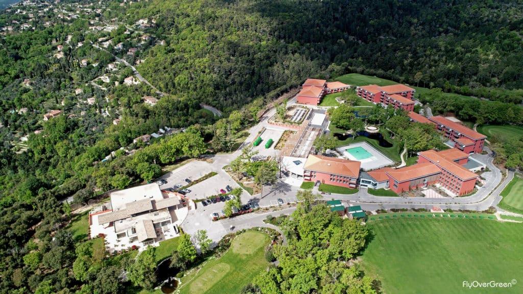 Golf Du Claux-amic vue aerienne hotel golf france