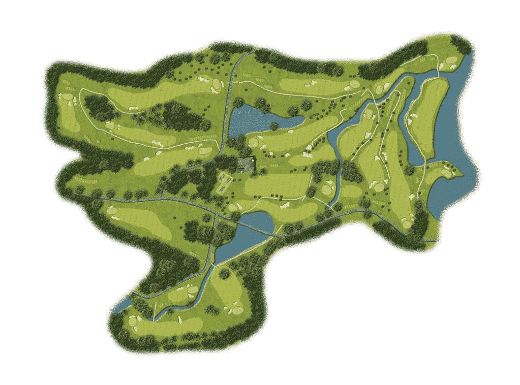 Carte du parcours Martinique golf