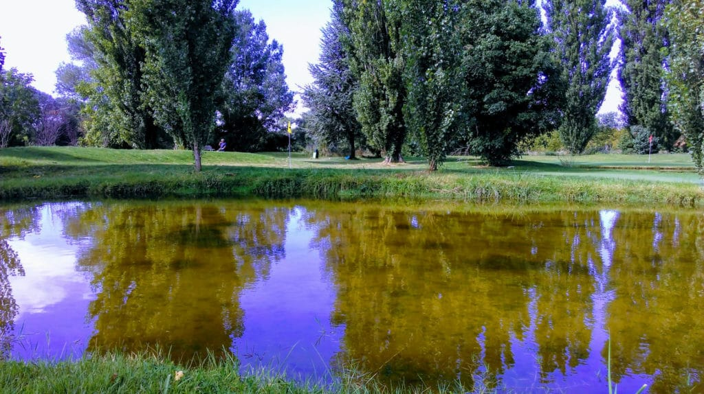 Easy golf du Bourget Parcours