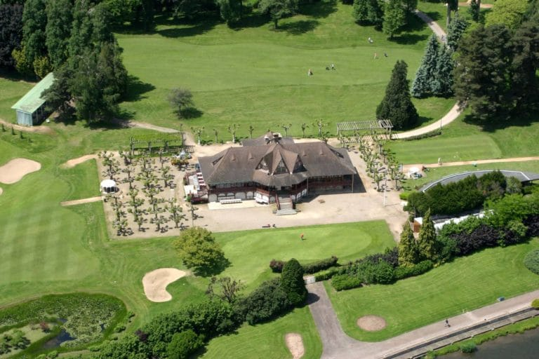 GOLF DU SPORTING CLUB DE VICHY Vue aerienne