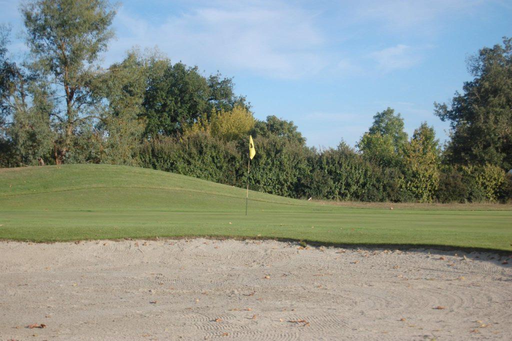 Golf Club d'Aiguelèze Green et Bunker