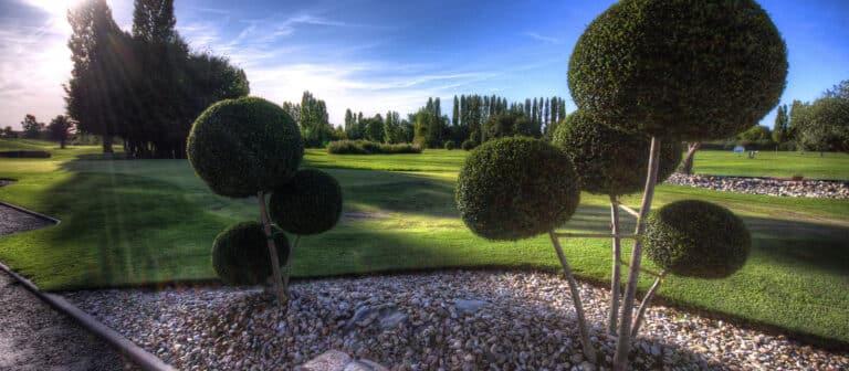 Golf Club d'Aiguelèze Vue sur le parcours de golf