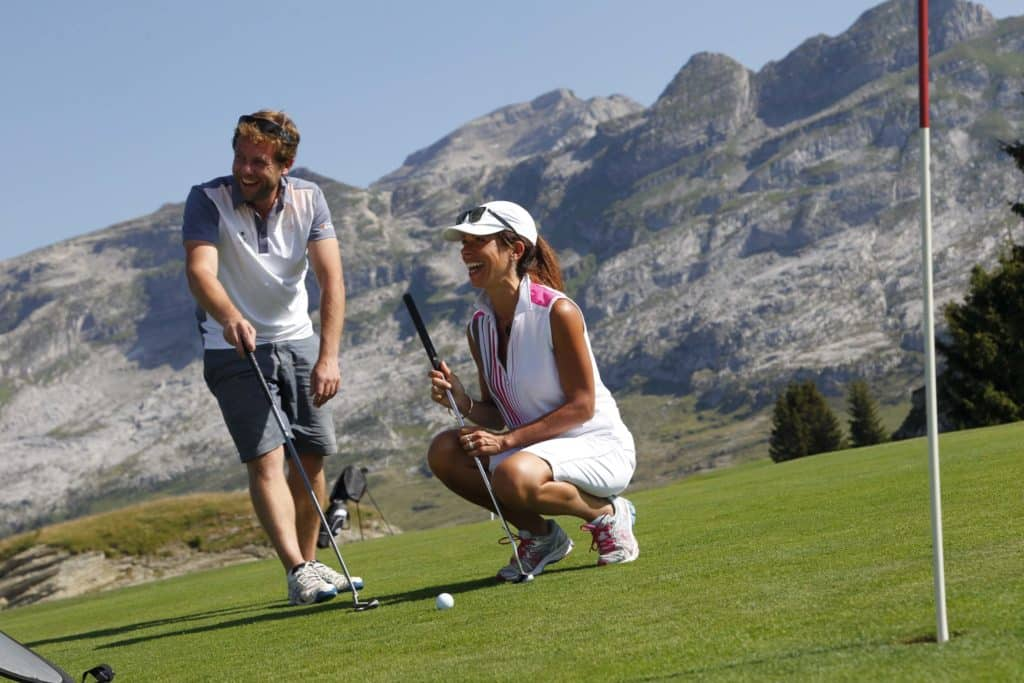 Golf Flaine - Les Carroz Couple of golfers