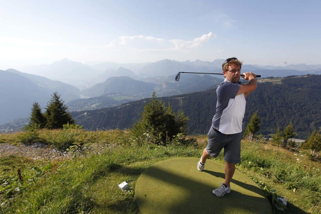 Golf Flaine - Les Carroz Swing de golf