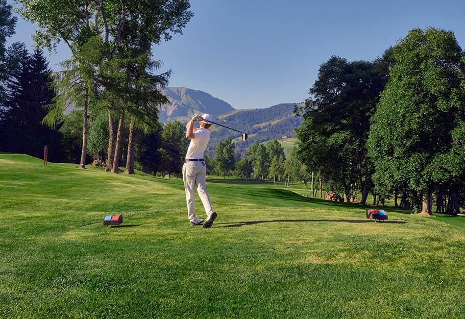 Golf-Terrain-Golfeur-Parcours de golf