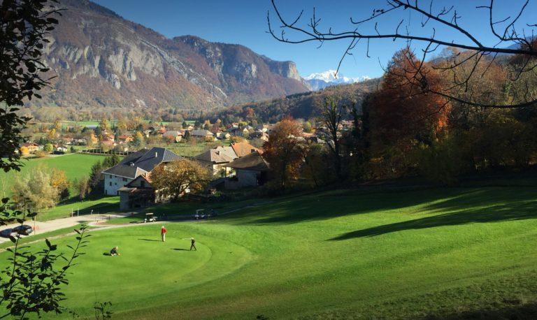 Auvergne Rhône Alpes golfs