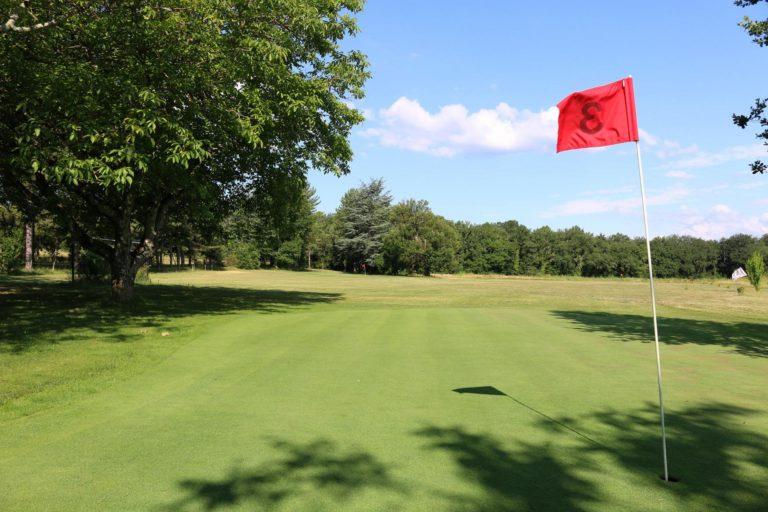 Golf du Château de Bournet Parcours de golf ardèche