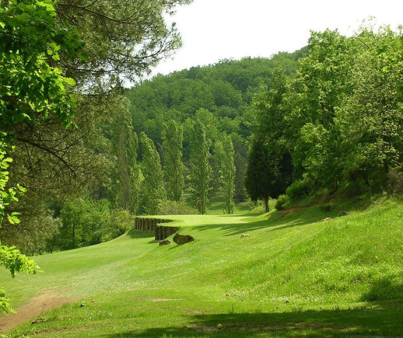 Green Golf d'Auch Embats Drive PAR 3 golfeurs