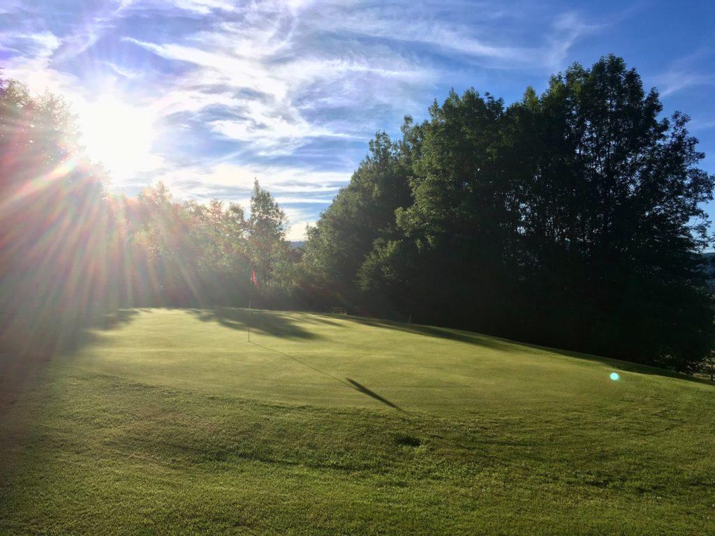 Greens du Vercors Soleil Levant été golf