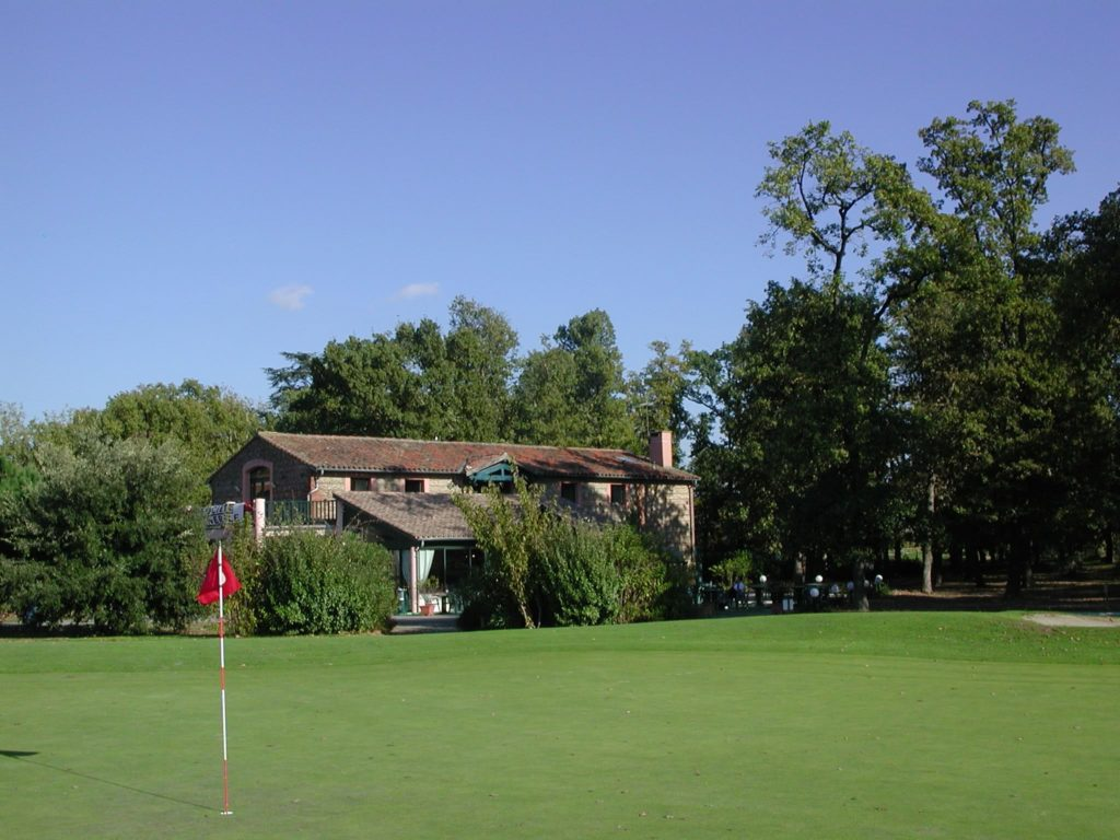 Maisons sur golf Golf de Toulouse la Ramée green fairway