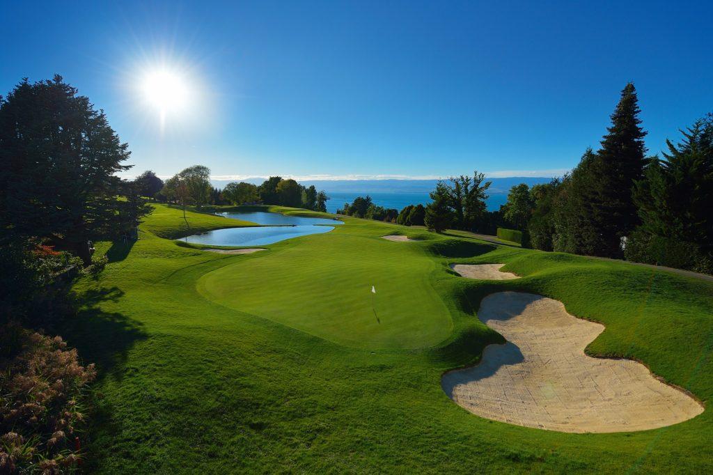 Parcours de golf à Evian Fairway Green
