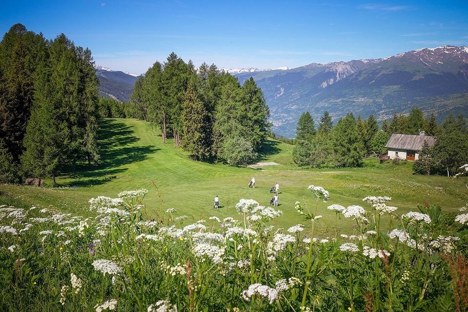 Parcours de golf Les arcs