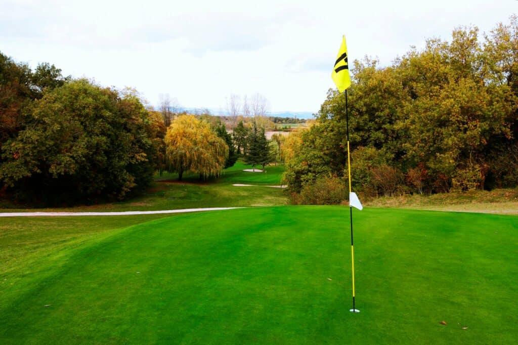 Parcours de golf Trou 17