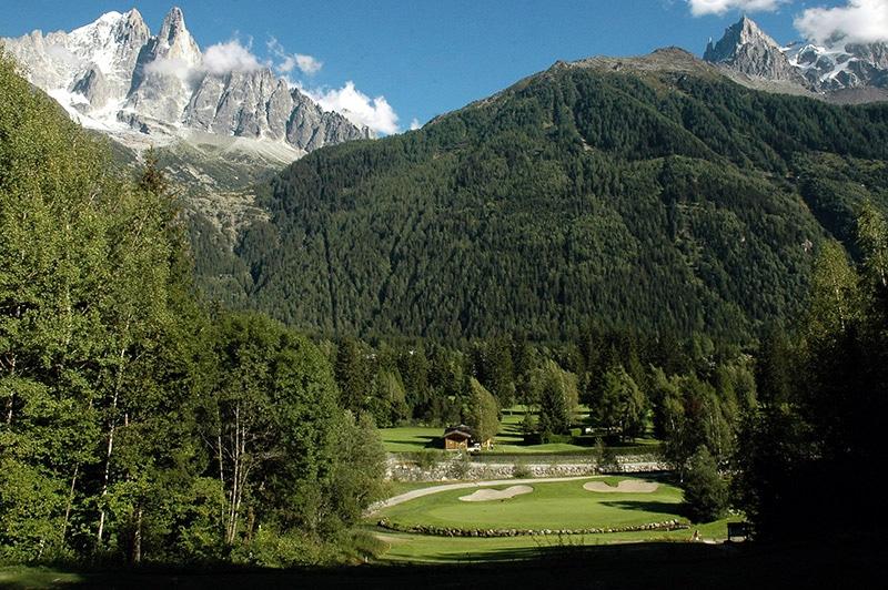 Parcours de golf de Chamonix