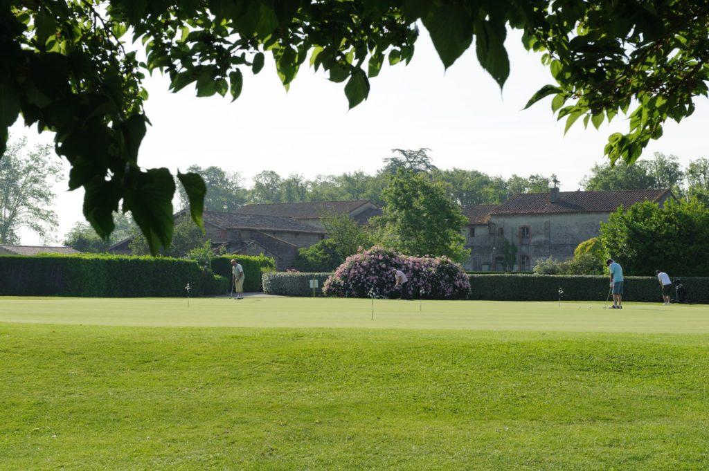 Putting green Golf de Toulouse la Ramée