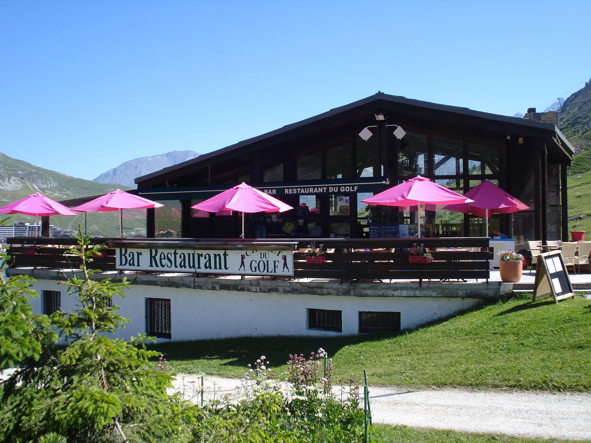 Restaurant du golf Tignes