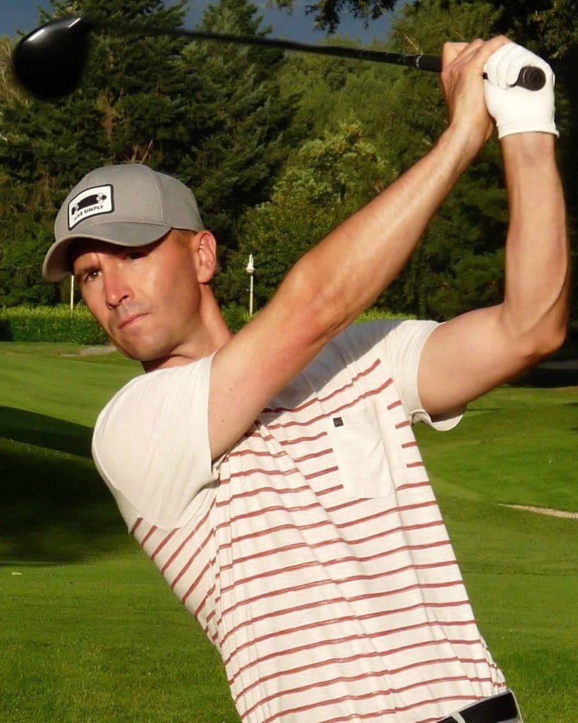 Stéphane Chiboust Professeur de golf