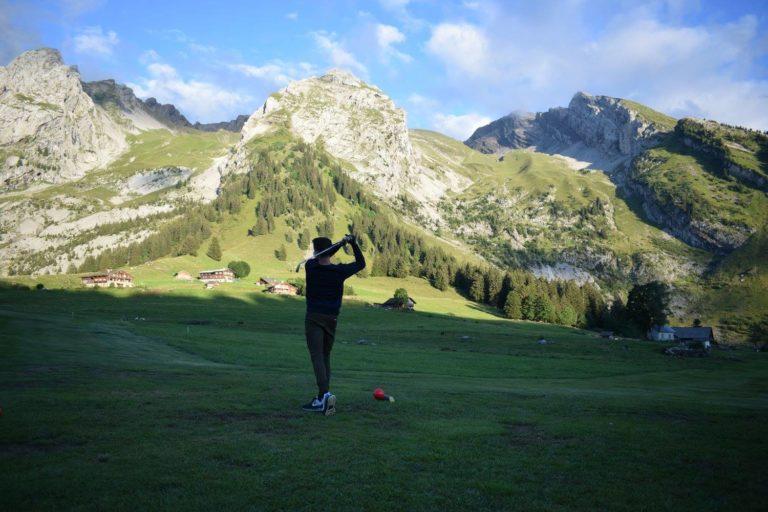 golf La Clusaz Montage Parcours