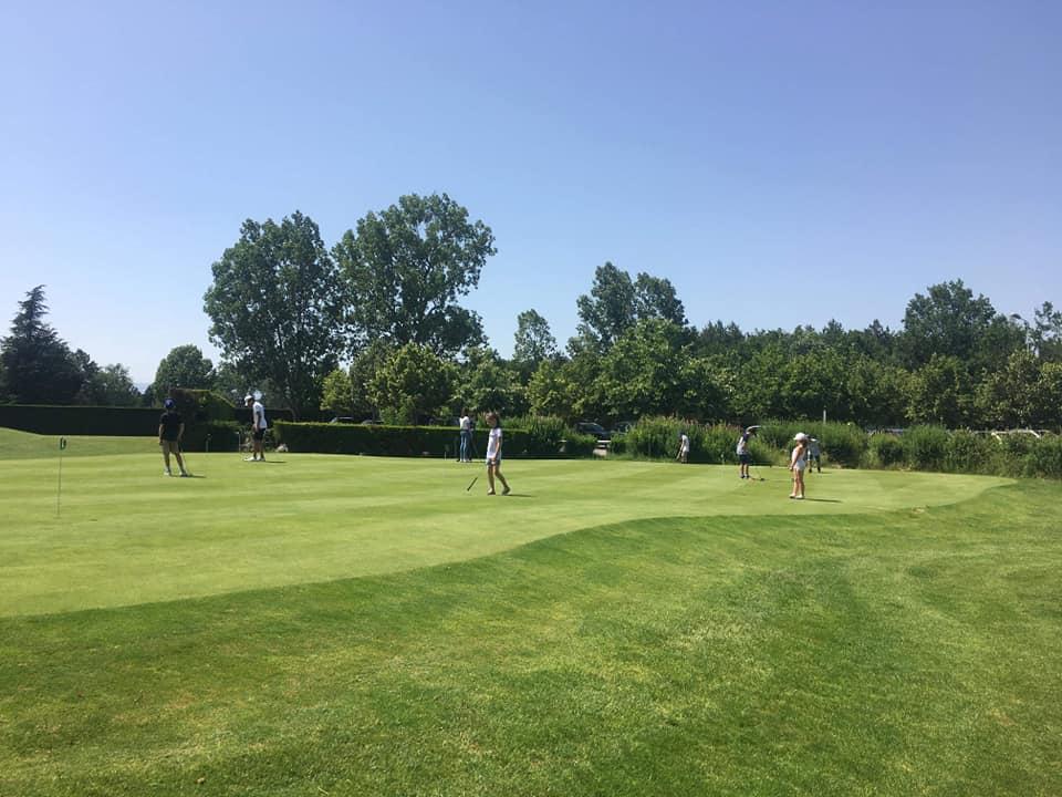 golf club de Forez putting green
