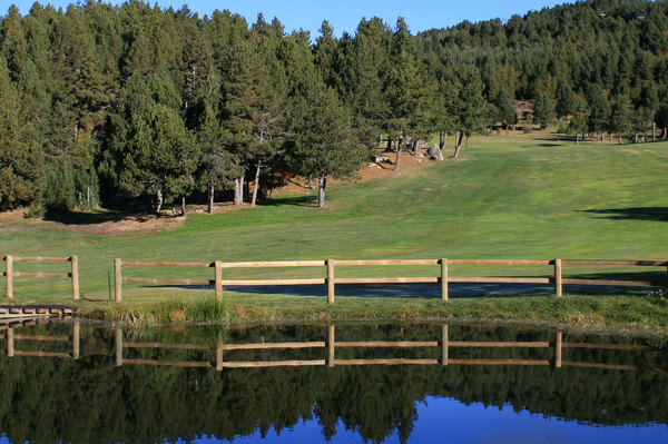 golf de font-Romeu-Green Fairway