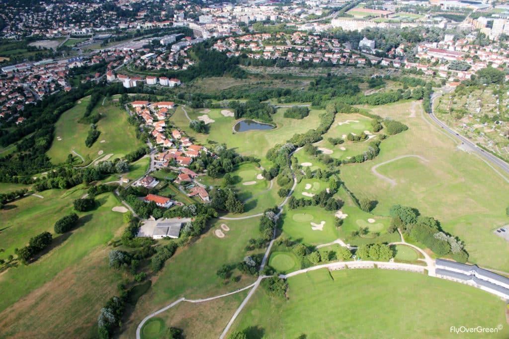 golf St Etienne vue aérienne