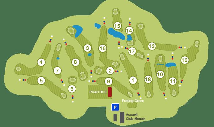 plan du parcours de la commanderie
