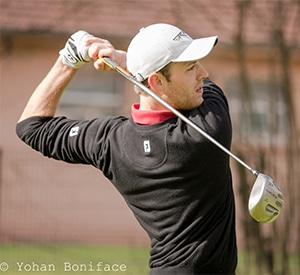 theo Thomas professeur de golf puy en Velay