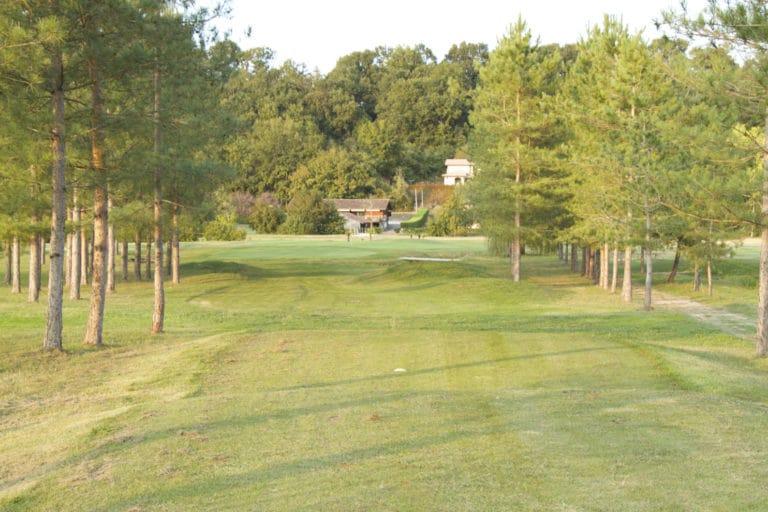Club-House fairway Golf du Tursan Les Greens d'Eugénie